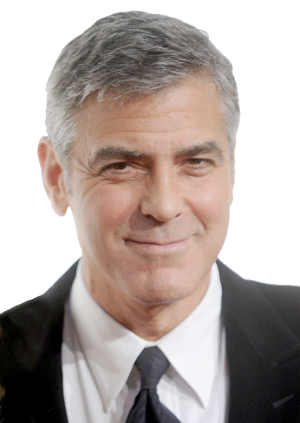 George Clooney File PNG Image