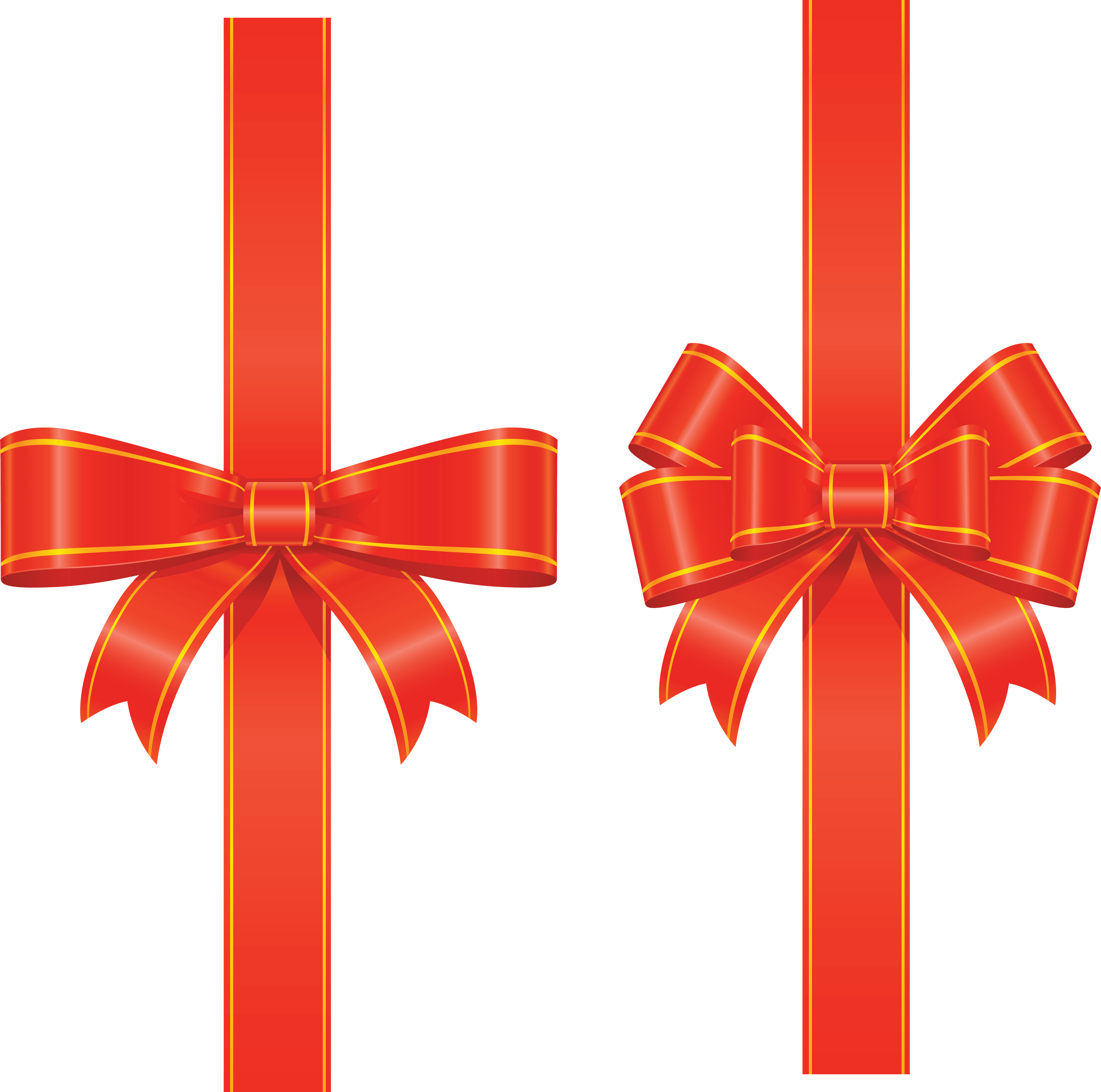 Gift Red Ribbon Png Image PNG Image