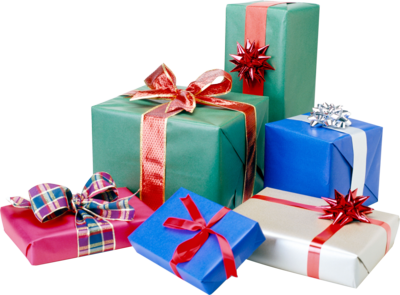 Christmas Gift Clipart PNG Image
