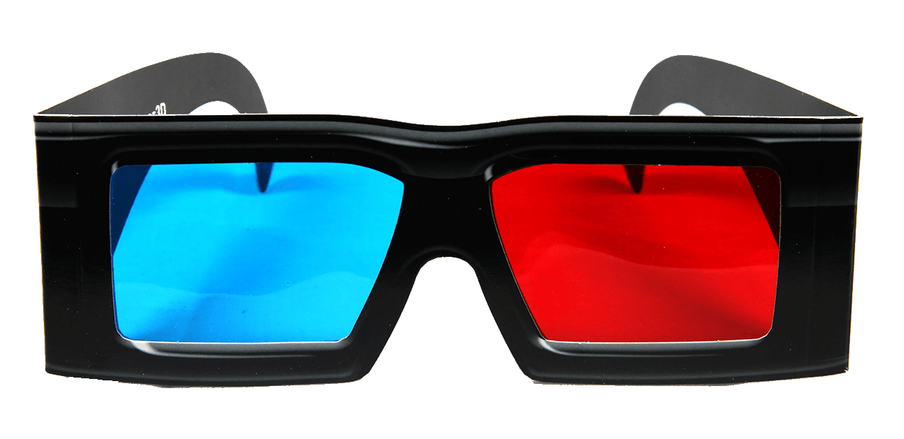 3D Cinema Glasses Png Image PNG Image