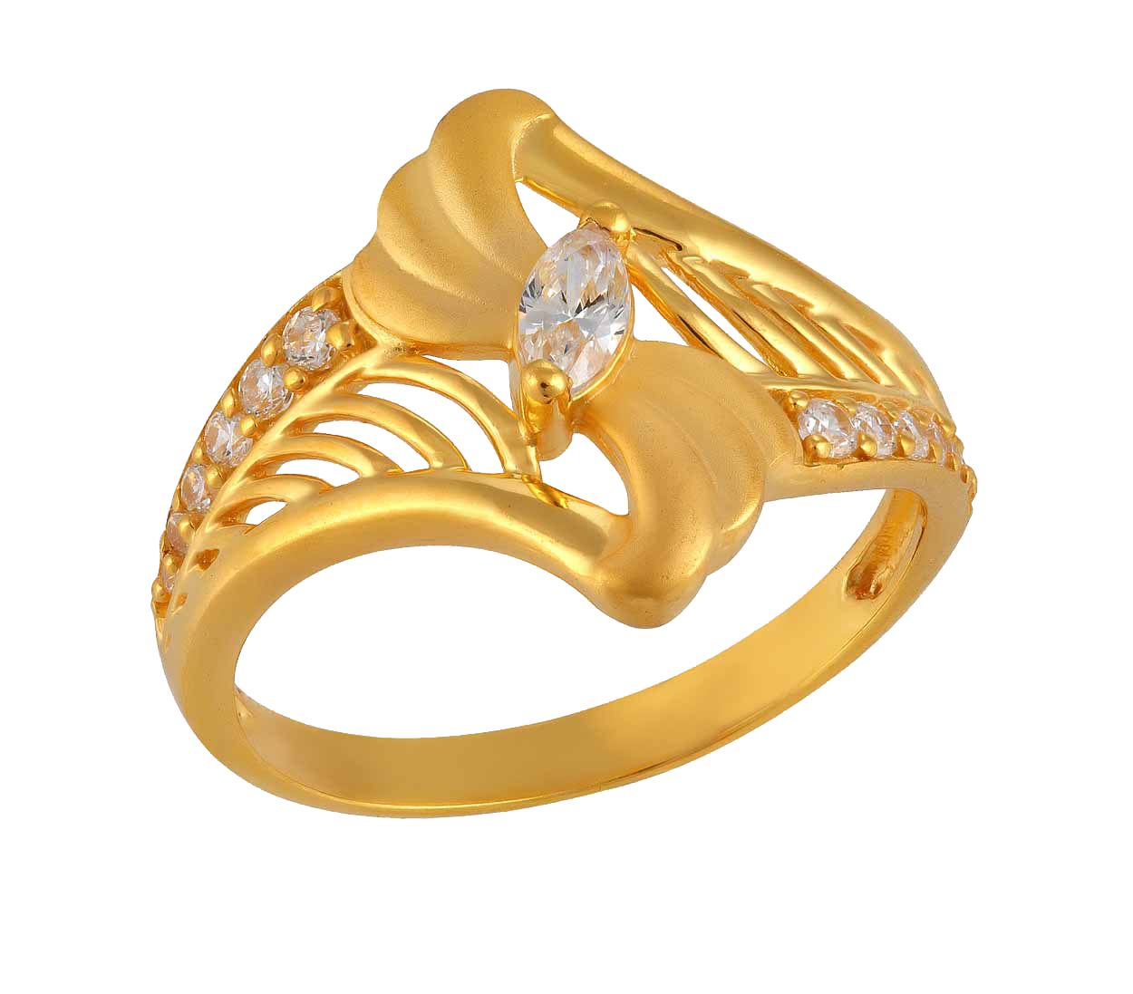 Gold Rings PNG Image