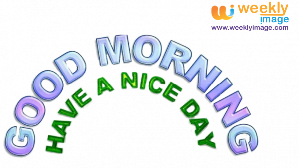 Good Morning PNG Image