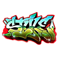 Graffiti Photo PNG Image