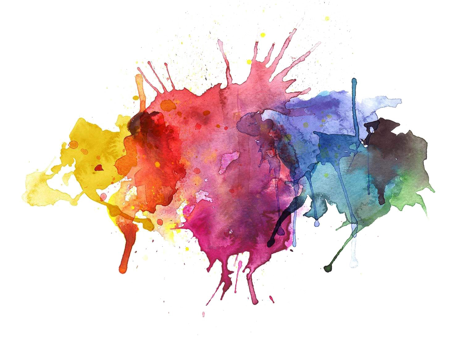 Download Abstract Watercolor Images Free Transparent Image