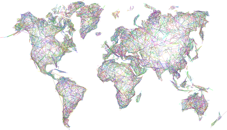 Download Abstract World Map Picture Free Download Image HQ ...