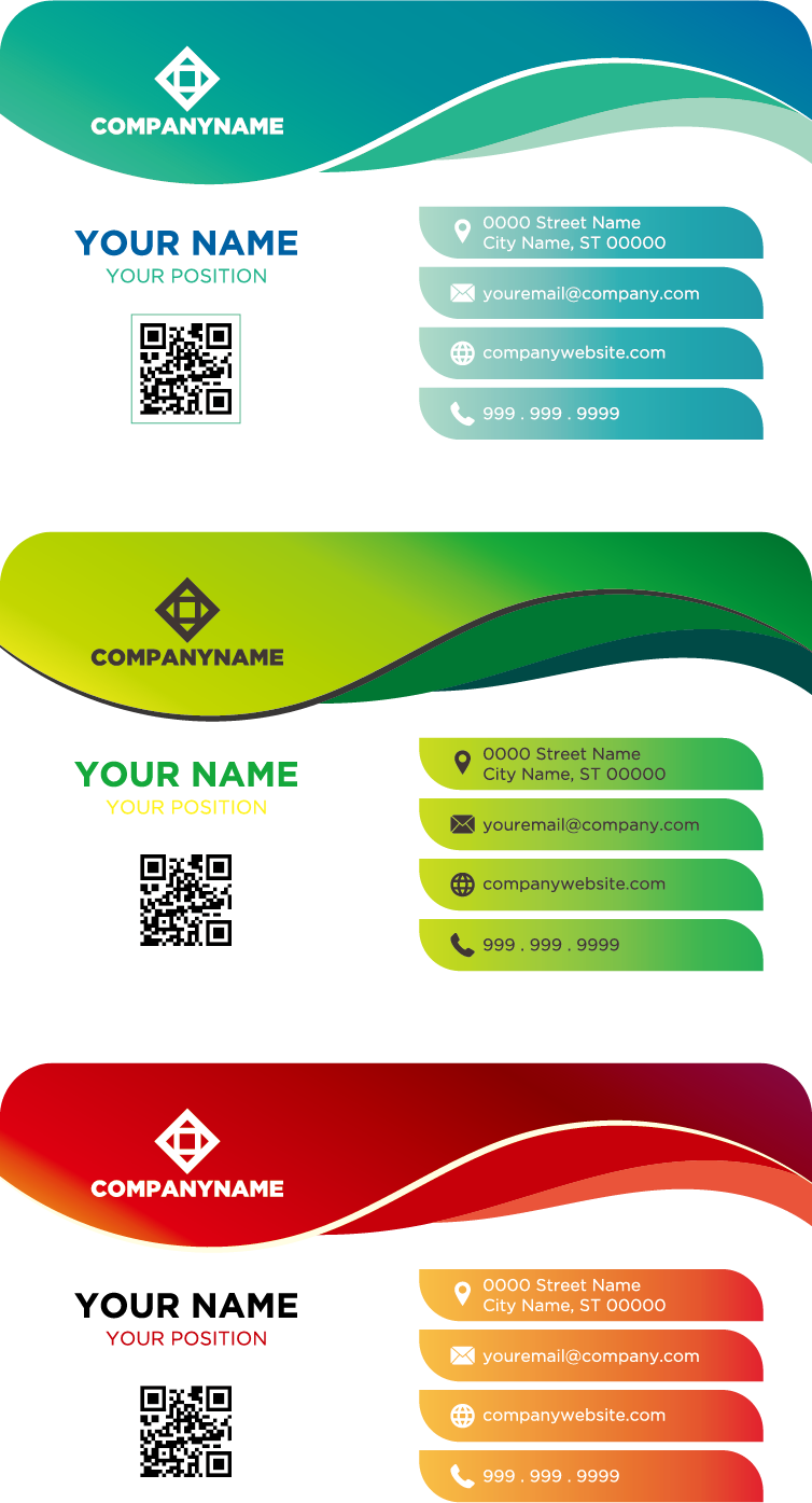 Business Color Idea Template Logo Card PNG Image