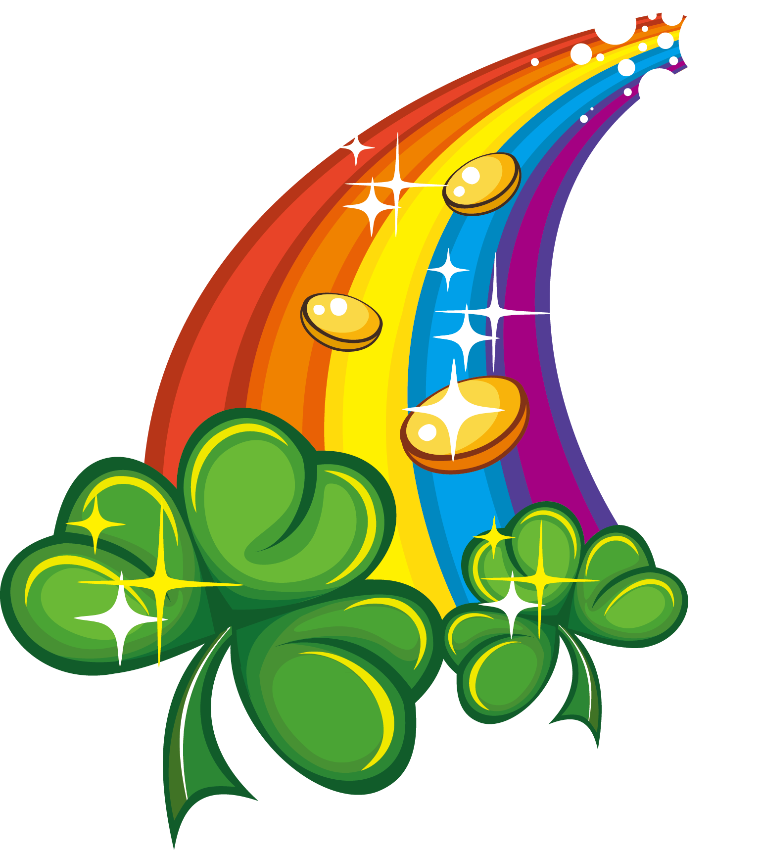 Irish Leaf People Symbol Patricks Saint Day PNG Image