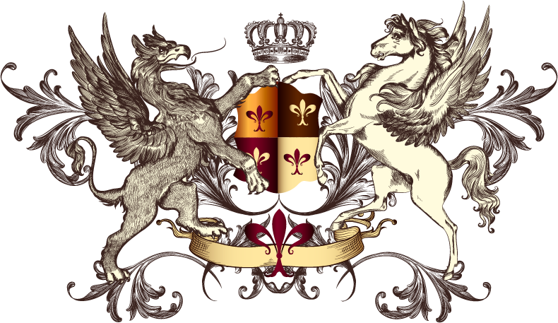 Heraldry Griffin Medieval Of Photography Arms Pegasus PNG Image