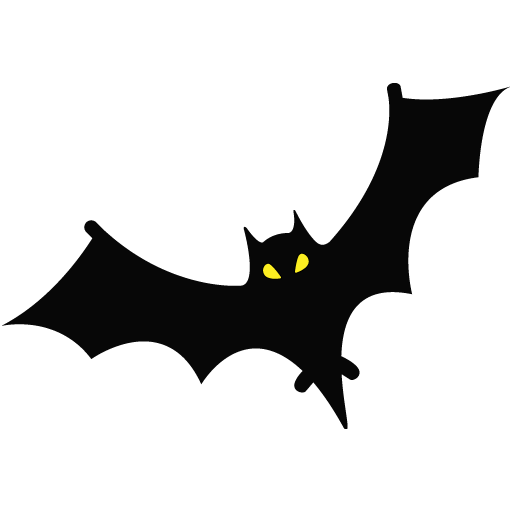 Halloween Bat Clipart PNG Image