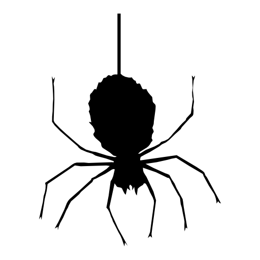 Halloween Spider Clipart PNG Image