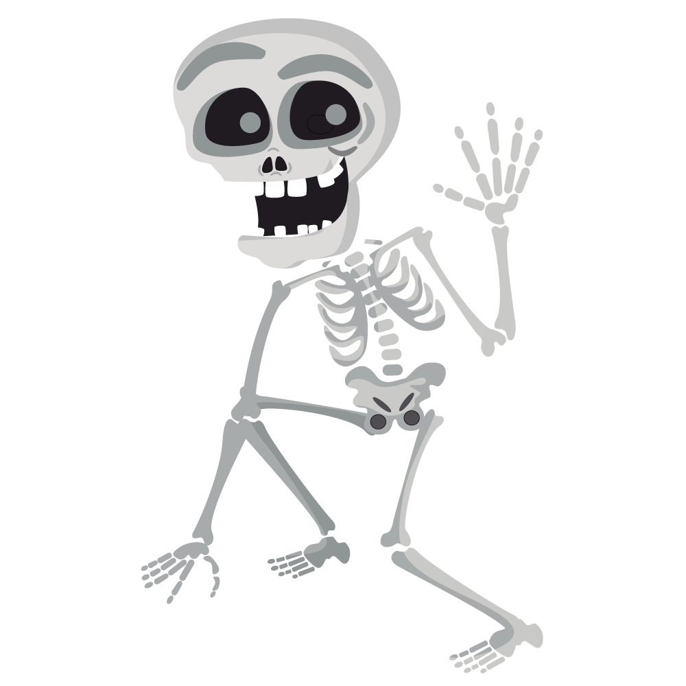 Halloween Skeleton Free Download PNG Image