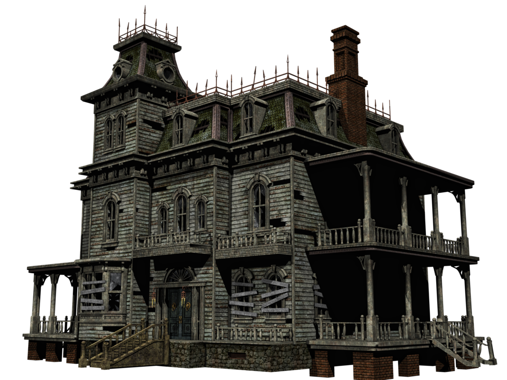 Halloween House Free Download PNG Image