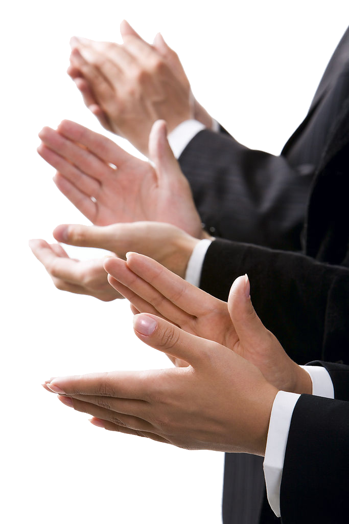 Applause Clapping Hand Live Photography Stock PNG Image