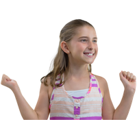 Similar Happy Girl PNG Image