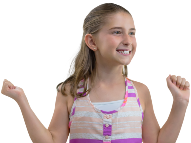 Happy Girl Png PNG Image