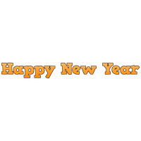 Happy New Year Png Clipart PNG Image