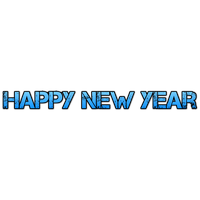 Happy New Year Transparent PNG Image