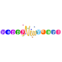 Happy New Year Free Png Image PNG Image