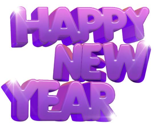 Happy New Year Png PNG Image