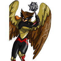 Hawkgirl PNG Image