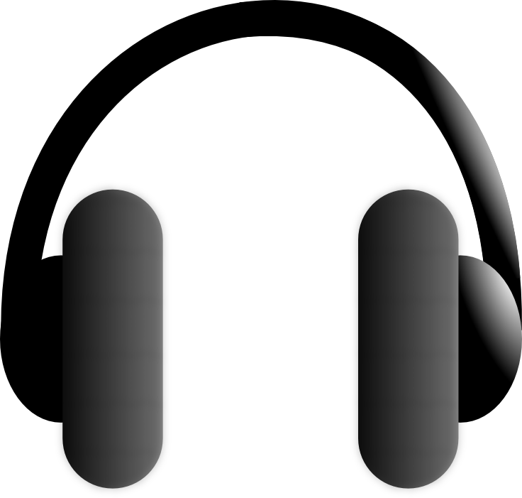 Compression Headphones PNG Image