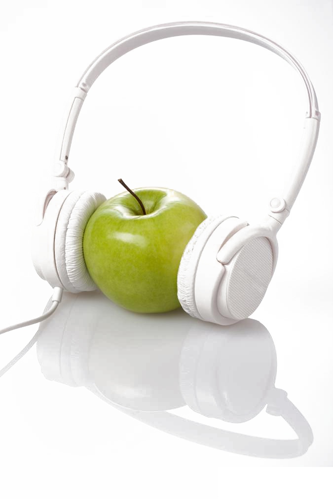 Cup Airpods Apple Fruit Headphones Download Free Image PNG Image