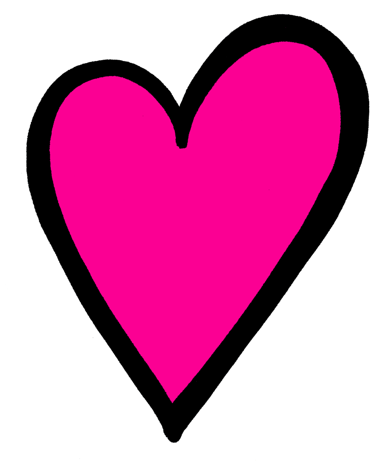 Download Hot Pink Heart Transparent Image HQ PNG Image ...