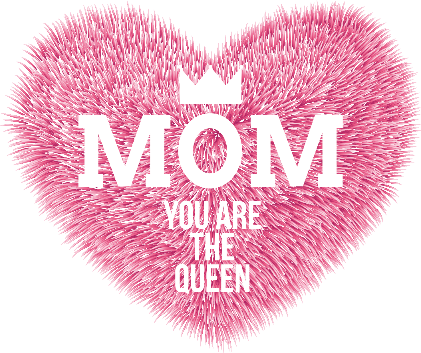 Mom Tattoo Transparent: Download Pink Heart Mothering Sunday Mother Day HQ PNG