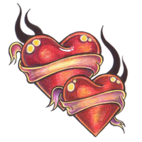 Heart Tattoos Png Pic PNG Image