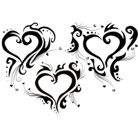 Heart Tattoos High-Quality Png PNG Image