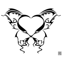Heart Tattoos Png Image PNG Image