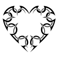 Heart Tattoos Picture PNG Image