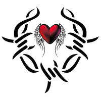 Heart Tattoos Download Png PNG Image