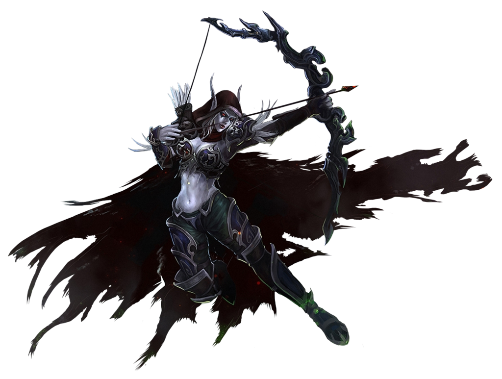 Lich King Windrunner Wrath Of Dragon Warcraft PNG Image