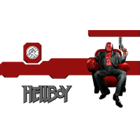 Hellboy Clipart PNG Image