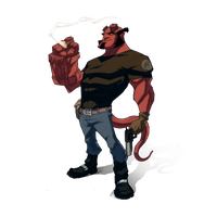 Hellboy Picture PNG Image