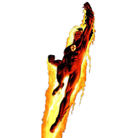 Human Torch Transparent Picture PNG Image