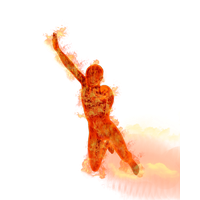 Human Torch Image PNG Image