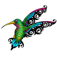 Hummingbird Tattoos Png File PNG Image