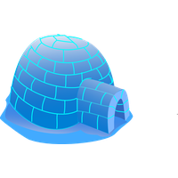Igloo Clipart PNG Image
