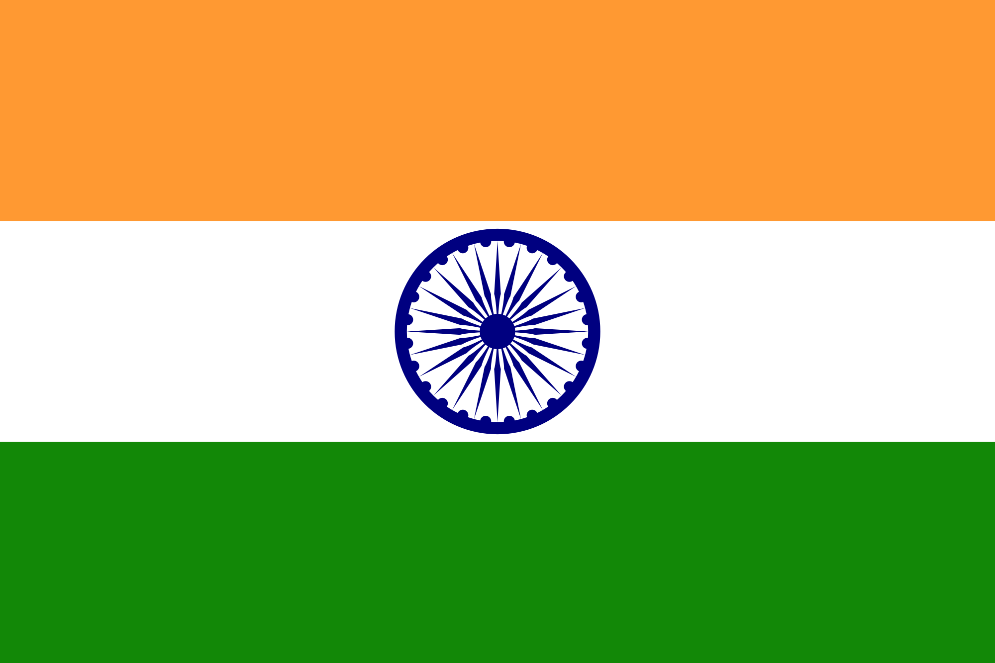 India Flag Png Clipart PNG Image