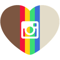Instagram Heart Png Picture PNG Image