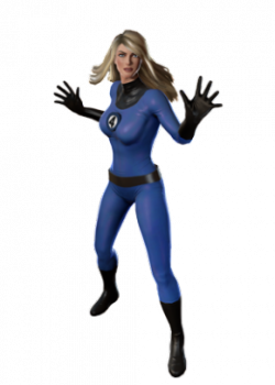 Invisible Woman Picture PNG Image