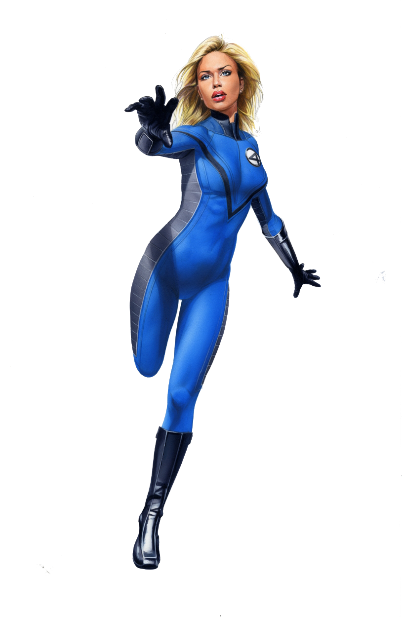 Invisible Woman Image PNG Image