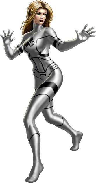 Invisible Woman Png Image PNG Image