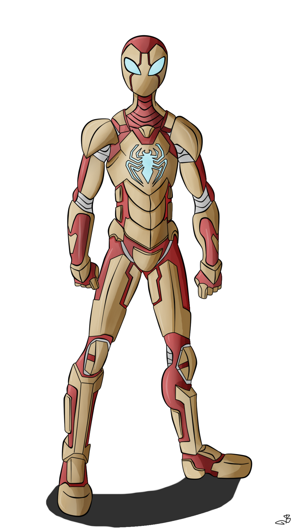 Iron Spiderman Transparent Image PNG Image