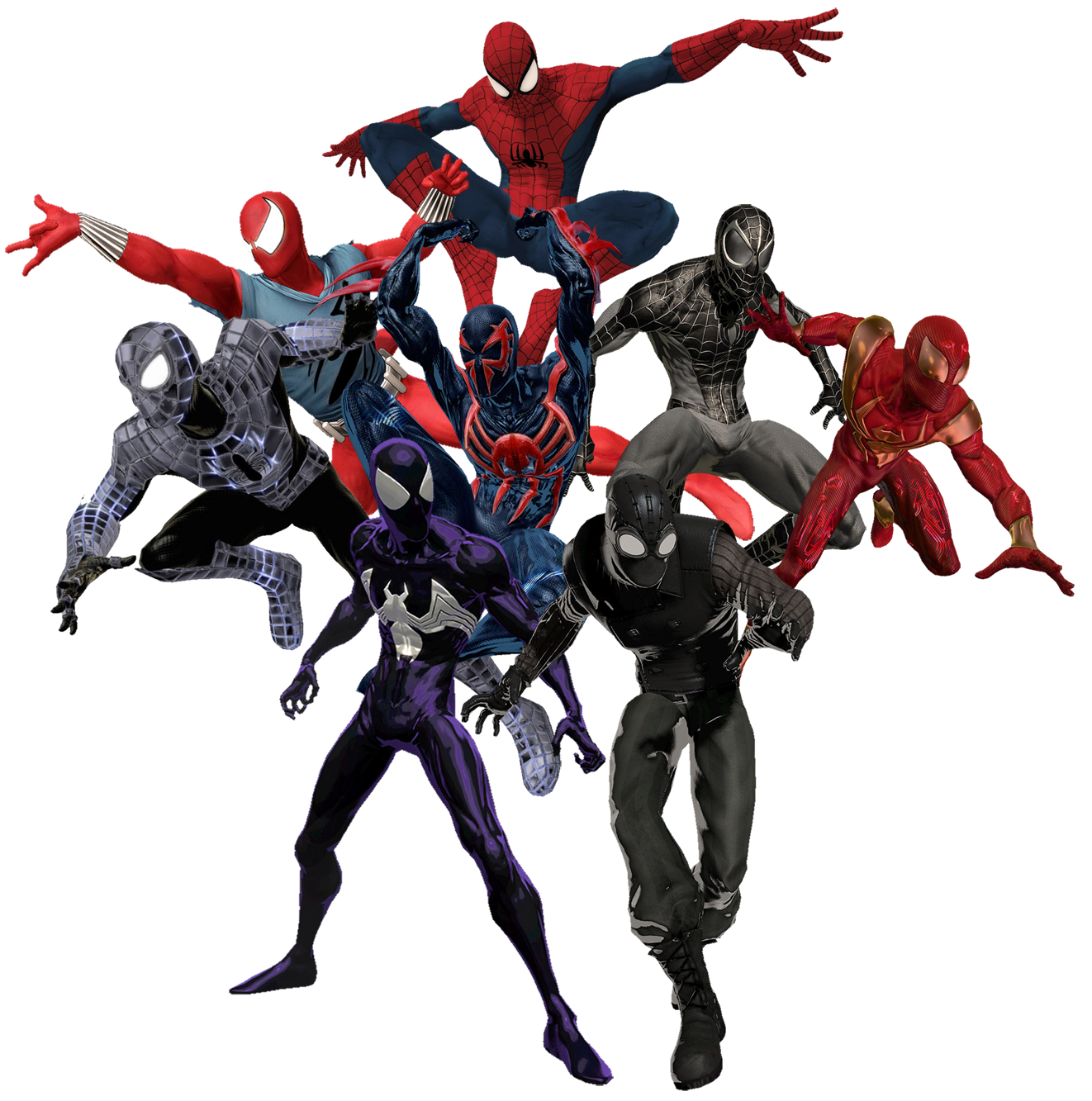 Iron Spiderman Photos PNG Image