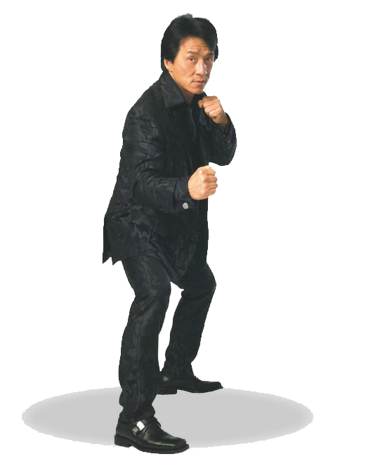 Jackie Chan Clipart PNG Image
