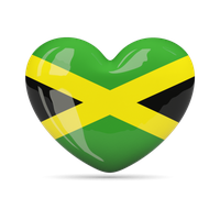 Jamaica Flag Png Hd PNG Image