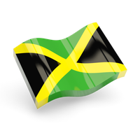 Jamaica Flag Free Download Png PNG Image